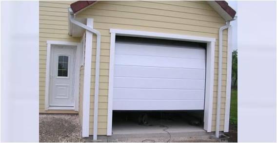 Garage sectionnel