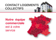 Contact commercial Logements Collectifs