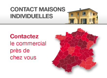 Contact commercial Maisons individuelles
