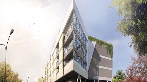 projet logement collectif smart B'