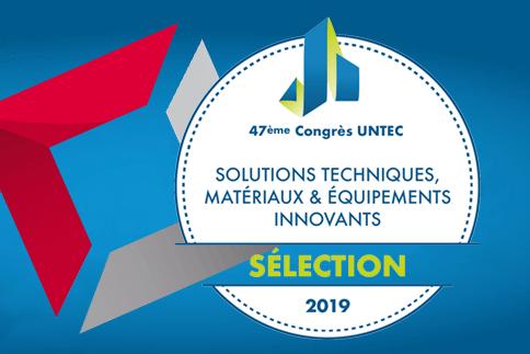 Prix de la Sélection technique 2019 UNTEC