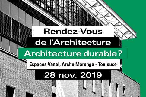 rendez vous de l'architecture durable