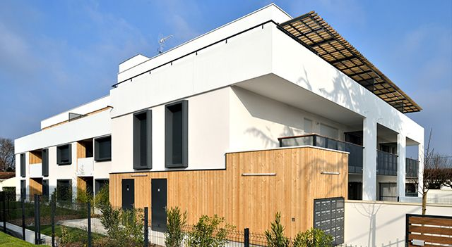 Bloc baie pour logement collectif