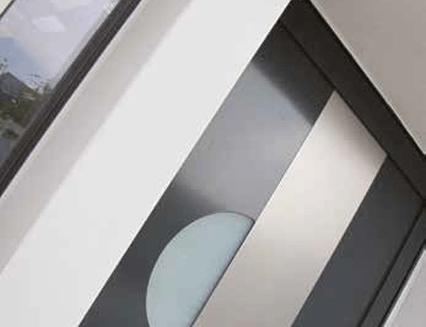 cadre de porte d'entrée platinium